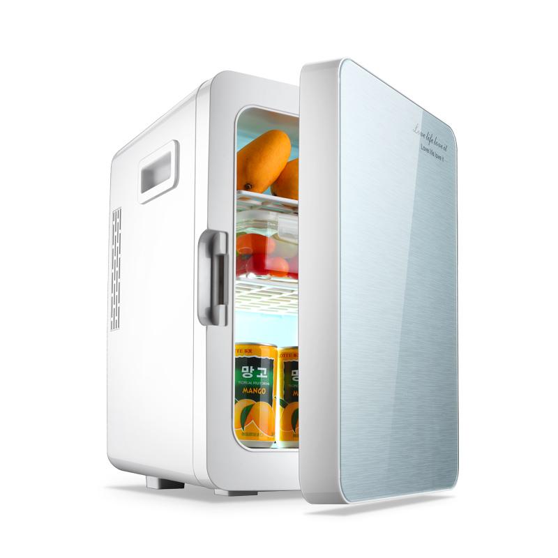 20L车载冰箱迷你小冰箱小型家用制冷宿舍车家两用冷藏箱