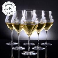 Bormioli Rocco 意大利原装进口水晶玻璃ARTE高脚杯 红酒杯 葡萄酒杯 香槟杯 5种容量 6只装