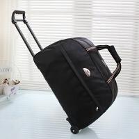 手提防水拉杆包大容量可压缩男女适用登机旅行包袋行李包袋