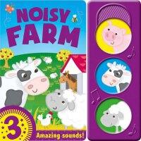 英文原版 儿童发声书 农场 Noisy Farm