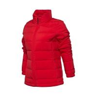 李宁羽绒服女服训练系列女子立领保暖拉链口袋羽绒服运动外套