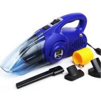车载吸尘器 汽车充气泵 数显胎压两用四合一汽车用吸尘器12V