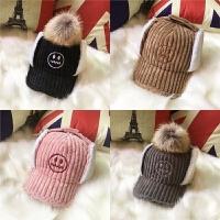 秋冬款3儿童帽子4小孩6加绒5鸭舌帽男童8保暖中大童护耳帽12岁