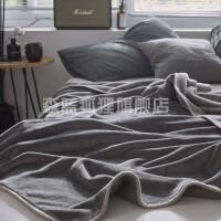 毛毯被子夏天男珊瑚�q毯子夏季薄款法�m�q�稳丝照{毯�k公室午睡毯