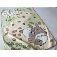 日本 龙猫卡通毛毯 毯子盖毯午休毯儿童学生totoro