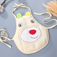 水晶绒婴儿肚兜 男女宝宝加厚新生儿兜兜秋冬季 小孩幼儿夹棉护肚 48cm(0-6个月)