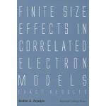 【预订】Finite Size Effects in Correlated Electron Models 97818