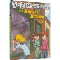 现货 The Absent Author (A to Z Mysteries) 失踪的小说家