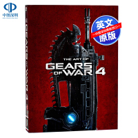 英文原版 战争机器4 游戏艺术画集 精装设定集 The Art of Gears of War 4 场景人物原画设定 X