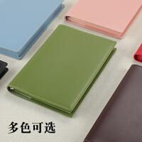 商务简约记事本a5小清新办公工作会议笔记本子记录本大学生书写笔记本