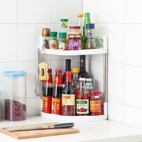 多层不锈钢置物架调味架落地储物架收纳架厨房调味料整理架调料架