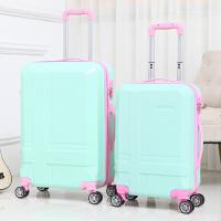 简约学生行李箱万向轮拉杆箱旅行箱包小密码箱子皮箱20寸24寸男女