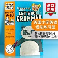 华研原版 英国小学英语语法练习册9-10岁 英文原版小学教材 Let's Do Grammar 全英文版书 正版进口书