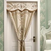 家居生活用品欧式门帘布艺隔断帘客厅卧室厨房卫生间门帘装饰帘窗帘免打孔