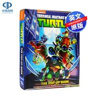 英文原版 忍者神龟立体书绘本 Teenage Mutant Ninja Turtles: The Pop-Up Book
