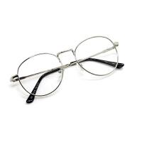 2018新款复古圆形眼镜框女素颜街拍个性百搭眼镜男可配平光镜xx