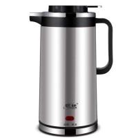 304不锈钢烧水壶 双层保温电热水壶 家用防烫自动断电水壶