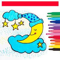 儿童水彩笔画画笔小学生彩色笔可洗水彩笔套装水彩笔