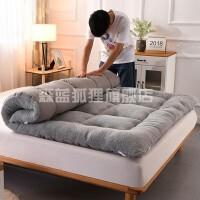 冬天羊羔绒床垫秋冬款加厚保暖10厘米厚床上用品老人上下铺床垫背