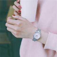 女士手表钢带女生学生简约休闲大气文艺链条韩版复古潮流ulzzang