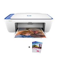 惠普(hp)2676/2677彩色喷墨照片打印机多功能打印复印扫描一体机无线网络家用办公连供替代2138 2676标配