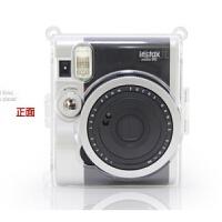现货富士拍立得相机MINI90水晶壳保护套透明相机包迷你90S