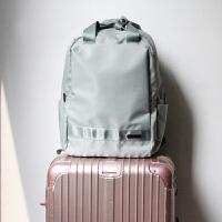 2018新款韩版防水尼龙双肩包商务女包旅行学生书包15.6寸电脑背包