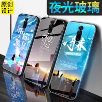 小米红米K20手机壳 红米K20pro保护壳 redmik20 pro夜光钢化玻璃硅胶软边全包防摔卡通彩绘硬壳保护套