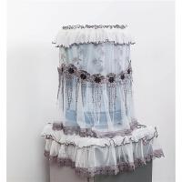 饮水机套防尘罩欧式纯净水桶罩子蕾丝客厅家用两件套盖布布艺卡通