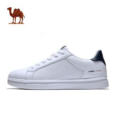 骆驼牌运动鞋 时尚板鞋 2018春季新款 轻便滑板鞋休闲滑板鞋 男