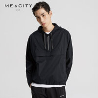 MECITY男装春秋男潮流套头外套卫衣