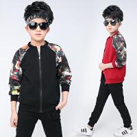 童装男童春装套装新款中大童儿童运动两件套春秋季男孩韩版潮