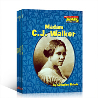 英文原版 科普读物 人物传记 6册 Christopher Columbus,George Washington wright brothers /madam C.J. walker/sally ri