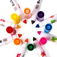幼儿涂鸦涂色画画笔套装 儿童水彩笔 可水洗宝宝绘画彩笔