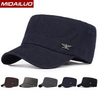 帽子男士鸭舌帽韩版平顶帽户外棒球遮阳帽夏季