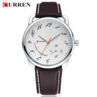 卡瑞恩CURREN8147正品防水男士手表商务休闲手表时尚简约皮带表