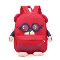 宝宝书包1-3-5岁幼儿园男童可爱韩版大班儿童旅游背包男双肩包潮6 红色大号 3-7岁