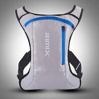 户外双肩骑行背包水袋包透气男女自行车马拉松越野跑步背包SN0049