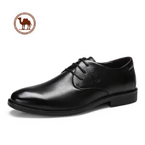 骆驼牌男鞋 春季新款正装商务皮鞋男青年时尚英伦真皮休闲皮鞋子