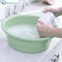 加厚水盆脸盆洗脸塑料盆厨房洗菜盆洗脚盆宝宝洗衣盆