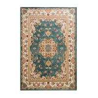 地毯卧室红客厅地垫床边毯子茶几长方形垫子北欧家用欧式加厚毛毯