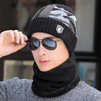帽子男冬天毛线帽针织套头帽冬季保暖男士骑车