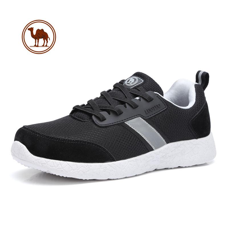 骆驼牌男女鞋 2018新款老人运动休闲鞋 妈妈鞋防滑软底健步鞋