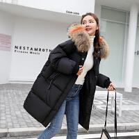 反季羽绒加厚外套女冬面包服棉袄韩版chic中长款bf棉衣女