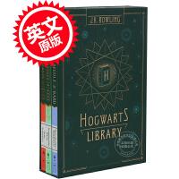 现货 霍格沃茨图书馆套装 英文原版 Hogwarts Library 神奇动物在哪里系列 哈利波特外传 Harry Po