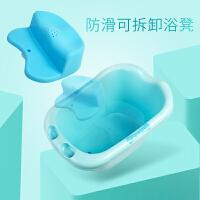 婴儿浴桶宝宝洗澡盆大号婴幼儿童沐浴盆新生儿用品可坐泡澡桶