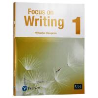 专注写作1 英文原版 Focus on Writing 1 培生写作指导书 英文版工具书 进口原版英语书籍