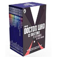 Doctor Who: 12 Doctors, 12 Stories Slipcase Edition英文原版 神秘博士:12位博士的12个故事:12本书加12张明信片套装