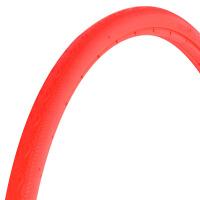 自行车轮胎 自行车700*23C微孔实心配件 免充气死飞单车轮胎 色彩多不漏气防刺 红色