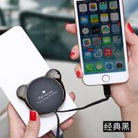 苹果数据线伸缩iphone手机充电器快充6收纳7加长6s网红ipad多功能8平板电脑